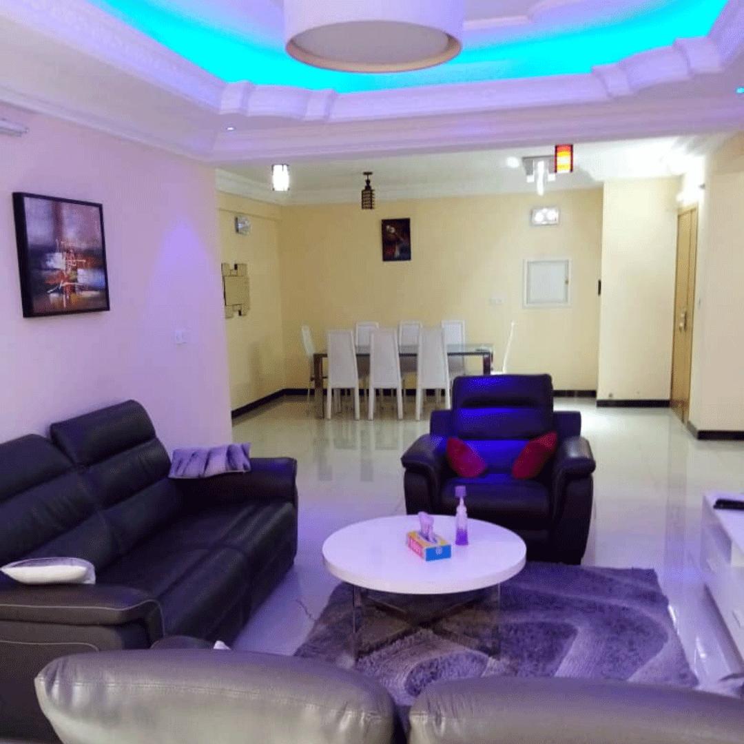 Appartement entièrement meublé