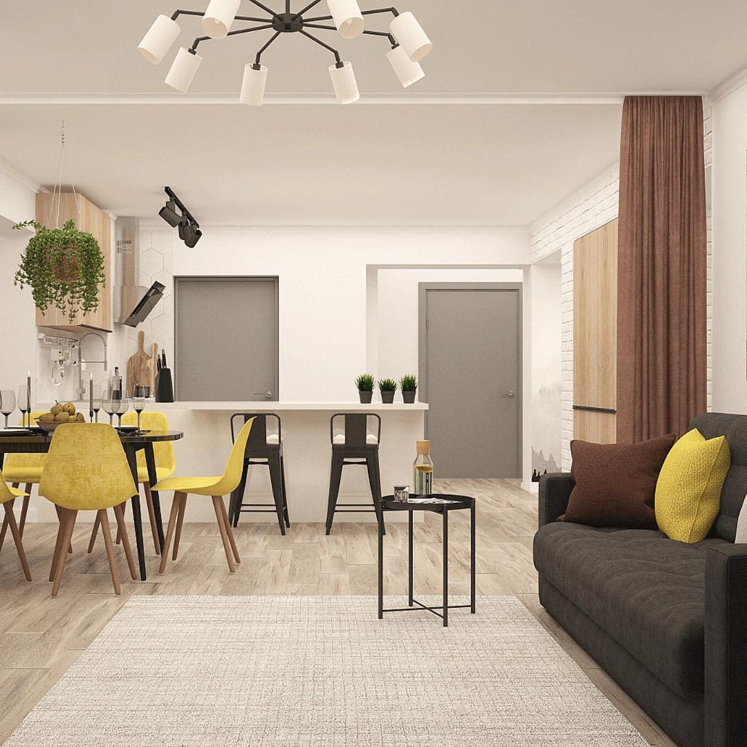 Appartement Semi meublé